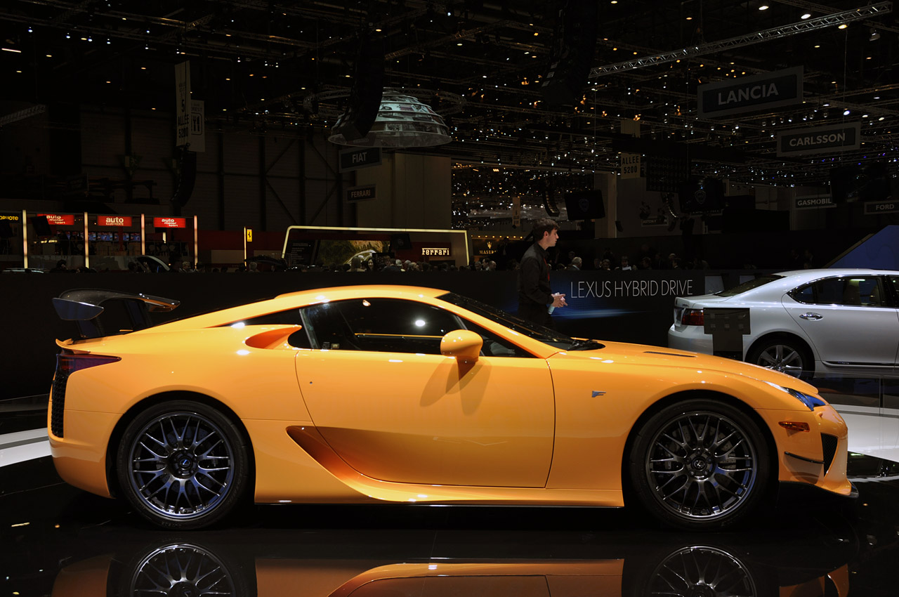 Some Beautiful Live Shots Of The LFA Nürburgring Package (earlier Post)  From Geneva.