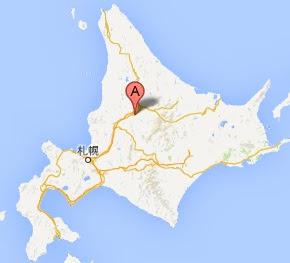 森の間 Cafe・地図