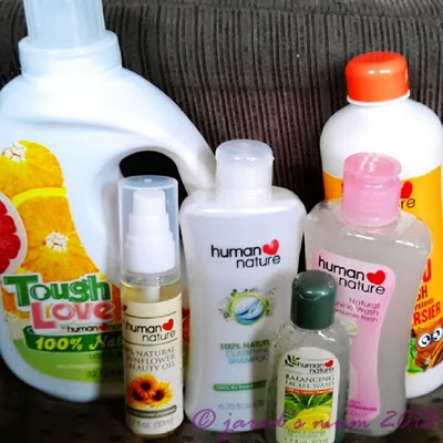 online shopping, products, Human Heart Nature, mum going green, earth-friendly products, beauty products, personal hygiene products, cleaning products