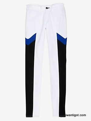 Grand Prix Paneled Skinny Jean by Rag & Bone/JEAN
