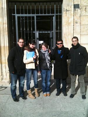 con Integrantes Bisite Group