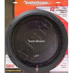 Rockford Fosgate Punch P312G P3 12-Inch Subwoofer Grille