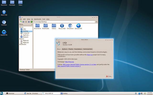 Como Instalar LXQt 0.7.0 en Ubuntu 14.04 LTS Trusty Tahr y Fedora 20