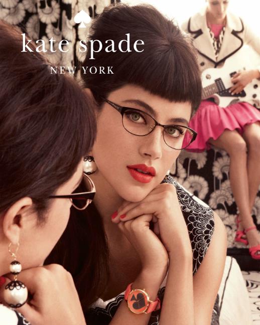Kate Spade Eyeglass Frames 2012 : Fashion Eyewear Kate Spade Spring-Summer 2012 Campaign