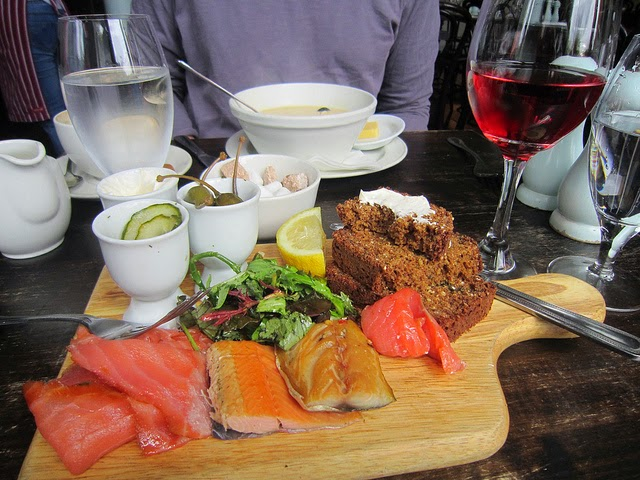Winding Stair's upstairs bistro. From 28 Best Bookshops in Dublin