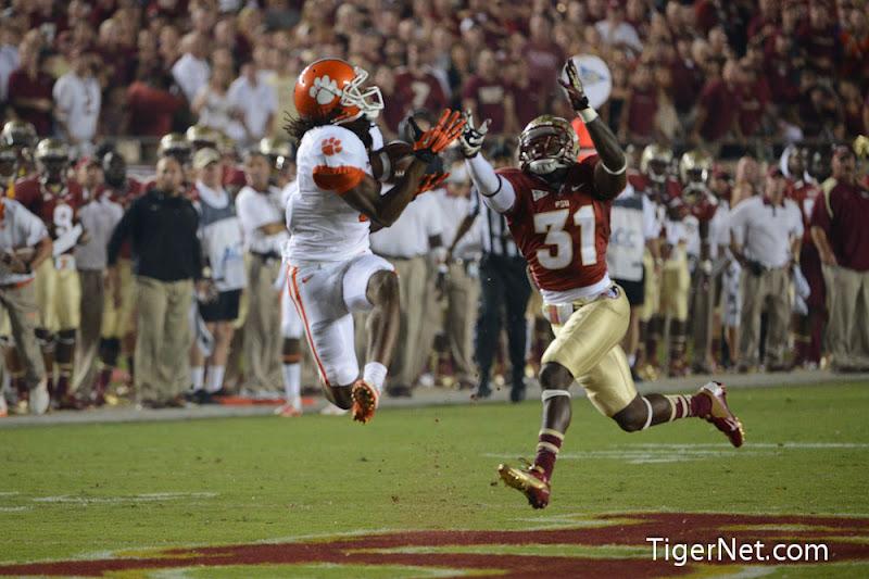 Clemson at Florida State Photos - 2012, DeAndre Hopkins, Florida State, Football