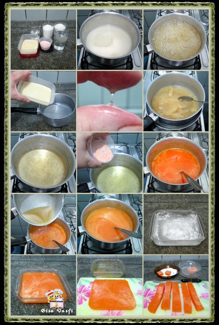 Geleia de frutas com gelatina 2