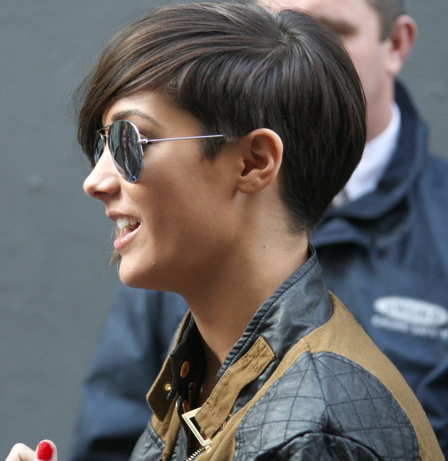 Frankie Sandford Back Of Hair
