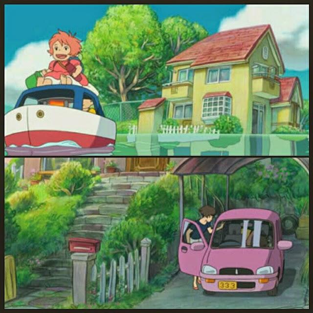 Ponyo and sosuke's House pelicula