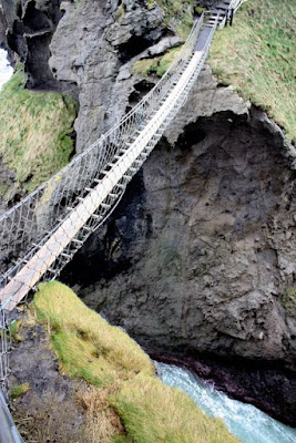 Carrick a Rede Rope Bridge in Northern Ireland's County Antrim