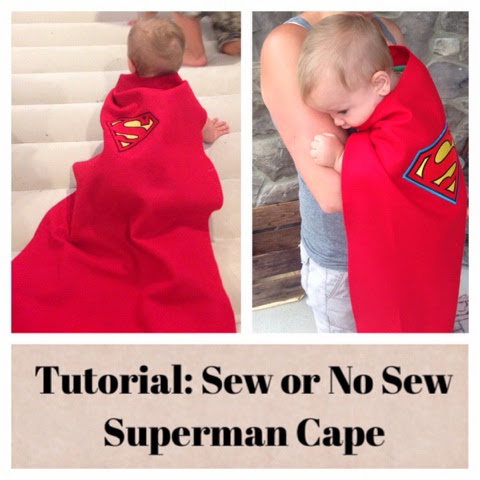How to make a super hero cape without sewing
