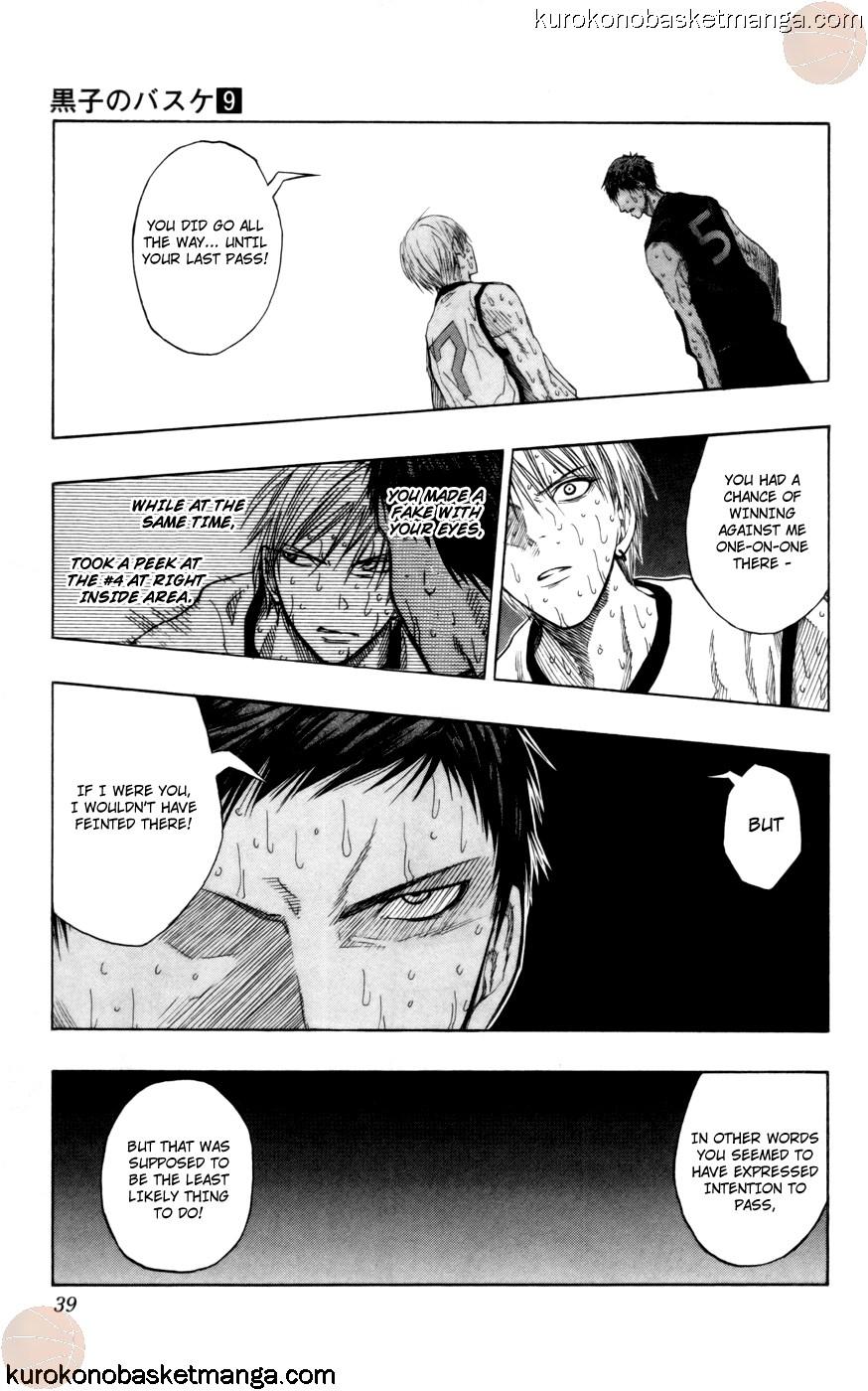 Kuroko no Basket Manga Chapter 72 - Image 13