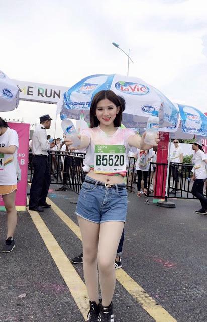 Hot girl Hoàng Mai Linh