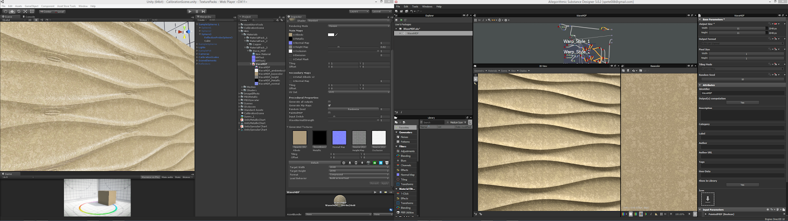 SD to Unity normal map problem — polycount