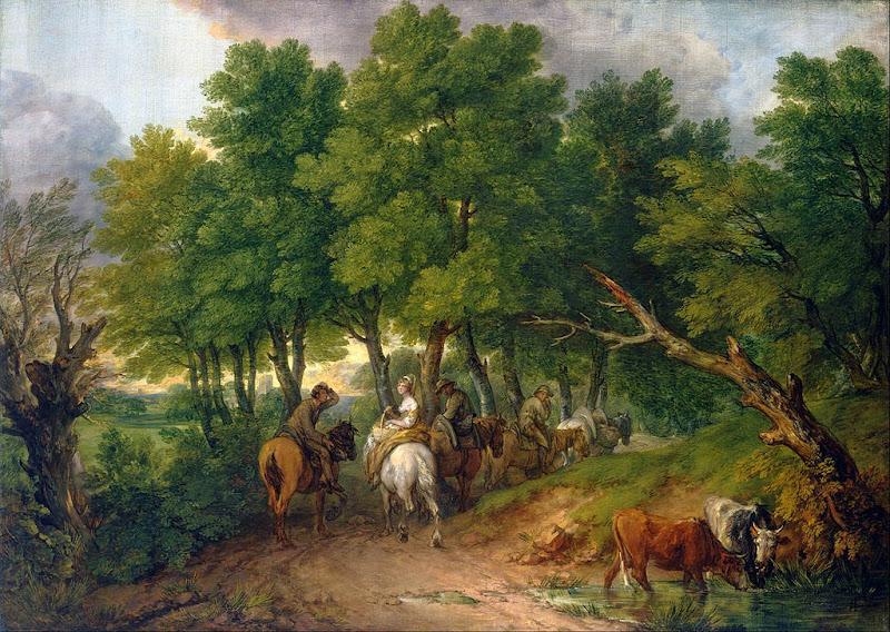 Thomas Gainsborough - Road from Market