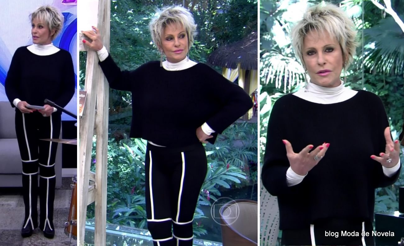 moda do programa Mais Você - look da Ana Maria Braga dia 13 de maio