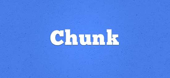 Chunk font