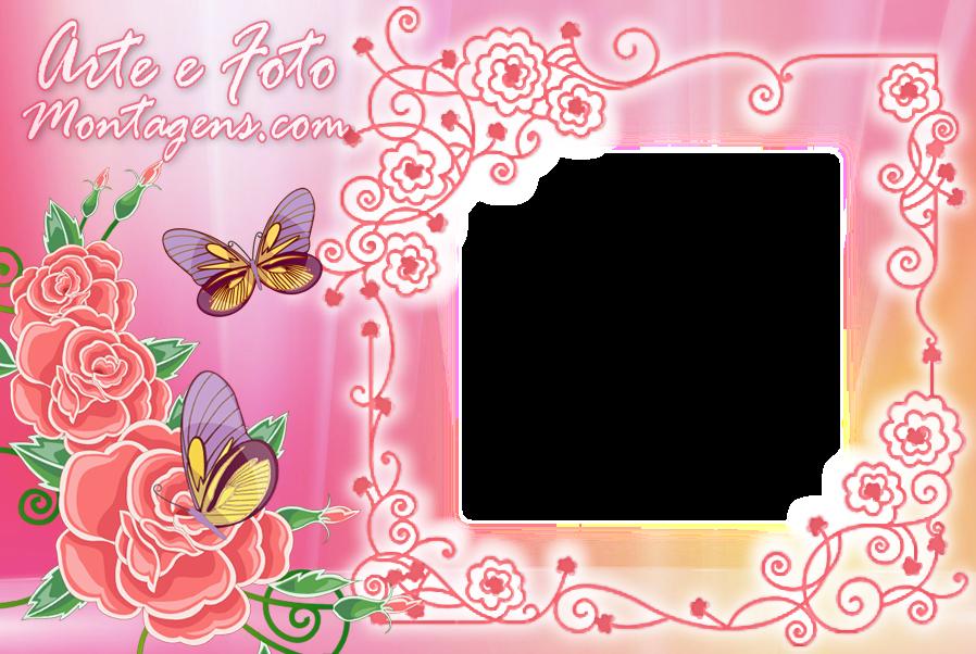 borboletas-e-rosas-pink