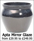 Apta Mirror Glaze Large Patio Pots and Planters