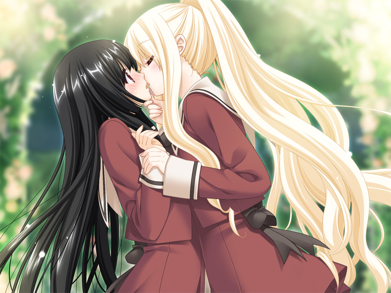 Kiss for the Petals Sono Hanabira Tenshi no Hanabira Zome Angel Colored Dye Shizuku Eris