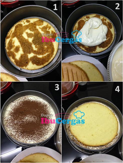 cara buat tiramisu cake kek