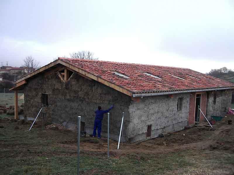 El pollo ecol gico la construcci n del gallinero - Gallineros de obra ...