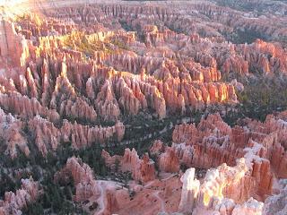 Pravljičen vzhod v Bryce canyonu