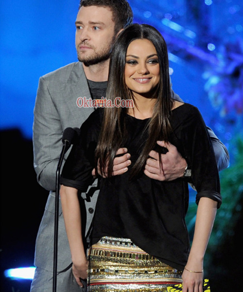 film Friends With Benefits, Justin Timberlake dan Mila Kunis, pasangan