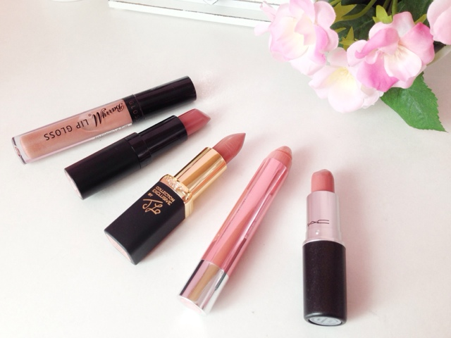 top 5 nude lipsticks