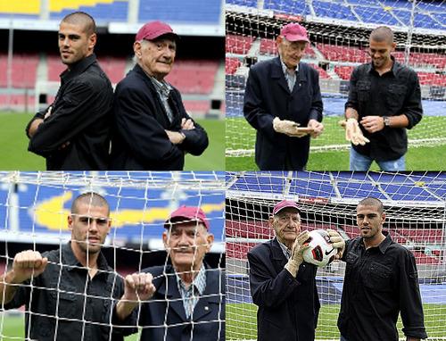 ¿Cuánto mide Víctor Valdés? VALDES-RAMALLETS