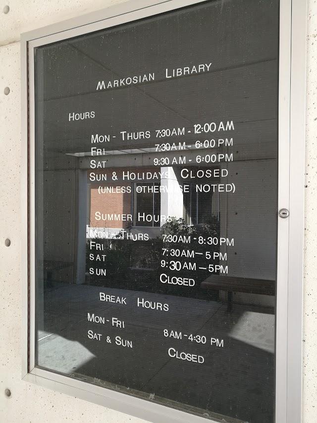 Markosian library Taylorsilly ut