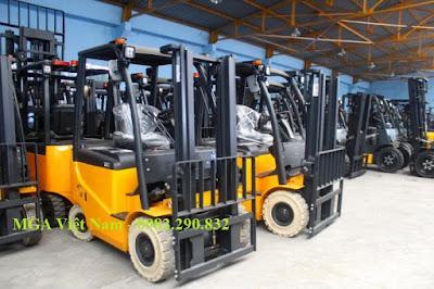 Xe nâng diesel MGA Việt Nam
