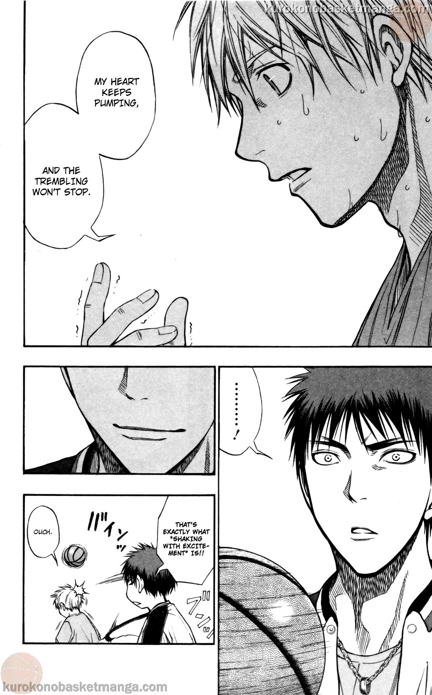 Kuroko no Basket Manga Chapter 108 - Image 14