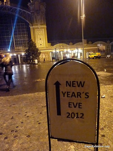 prague, new years eve 2012