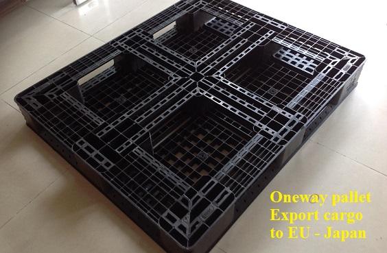 Oneway Pallet xuất hàng đi EU Japan