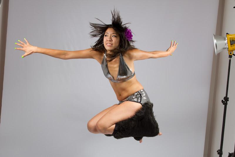 Disco Bikini Action Photo