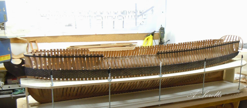 Mahonesa frégate- 34 canons1789 à 1:32 par A. Sorolla plans de Fermin Urtizberea MA1503016