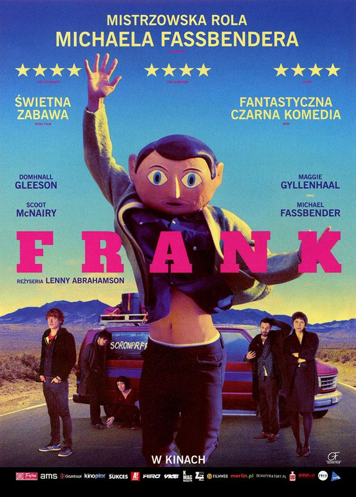 Ulotka filmu 'Frank (przód)'