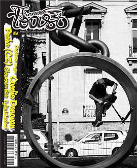 couverture du magazine numero 4 de trottinette freestyle French Toast