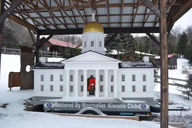 Модель Капитолия штата Вермонт