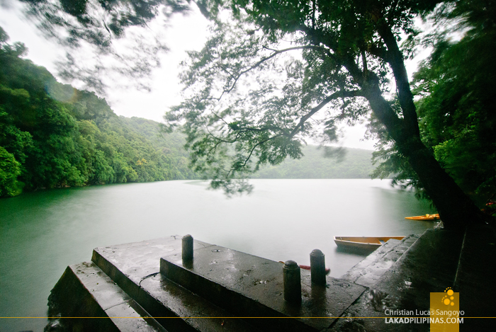 Rainy Afternoon at Sorsogon's Lake Bulusan