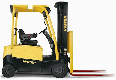 Xe nâng điện 1.8 tấn Hyster E1.8XN