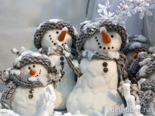 стихи про снеговиков
