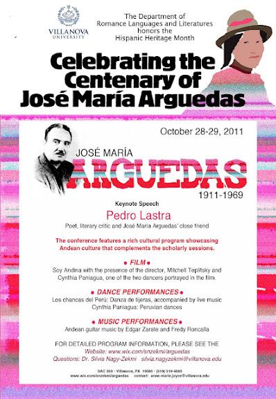 Celebrando el Centenario de José María Arguedas
