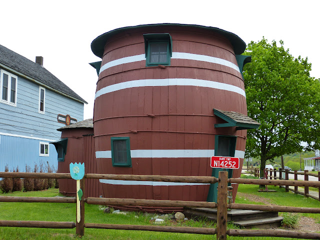 Teenie Weenie Pickle Barrel Cottage in Grand Marais. From Oddball Michigan: A Guide to 450 Really Strange Places