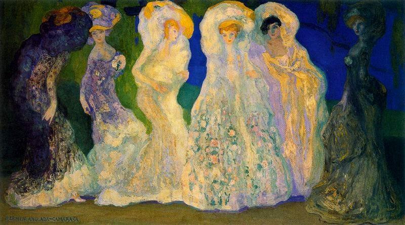 Hermen Anglada-Camarasa - Los Opalos 1904