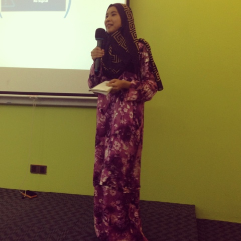 Awesomazing Team speaker Nadia Aziz