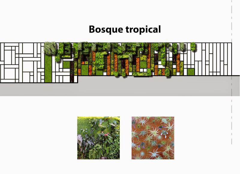 Jardines verticales en México