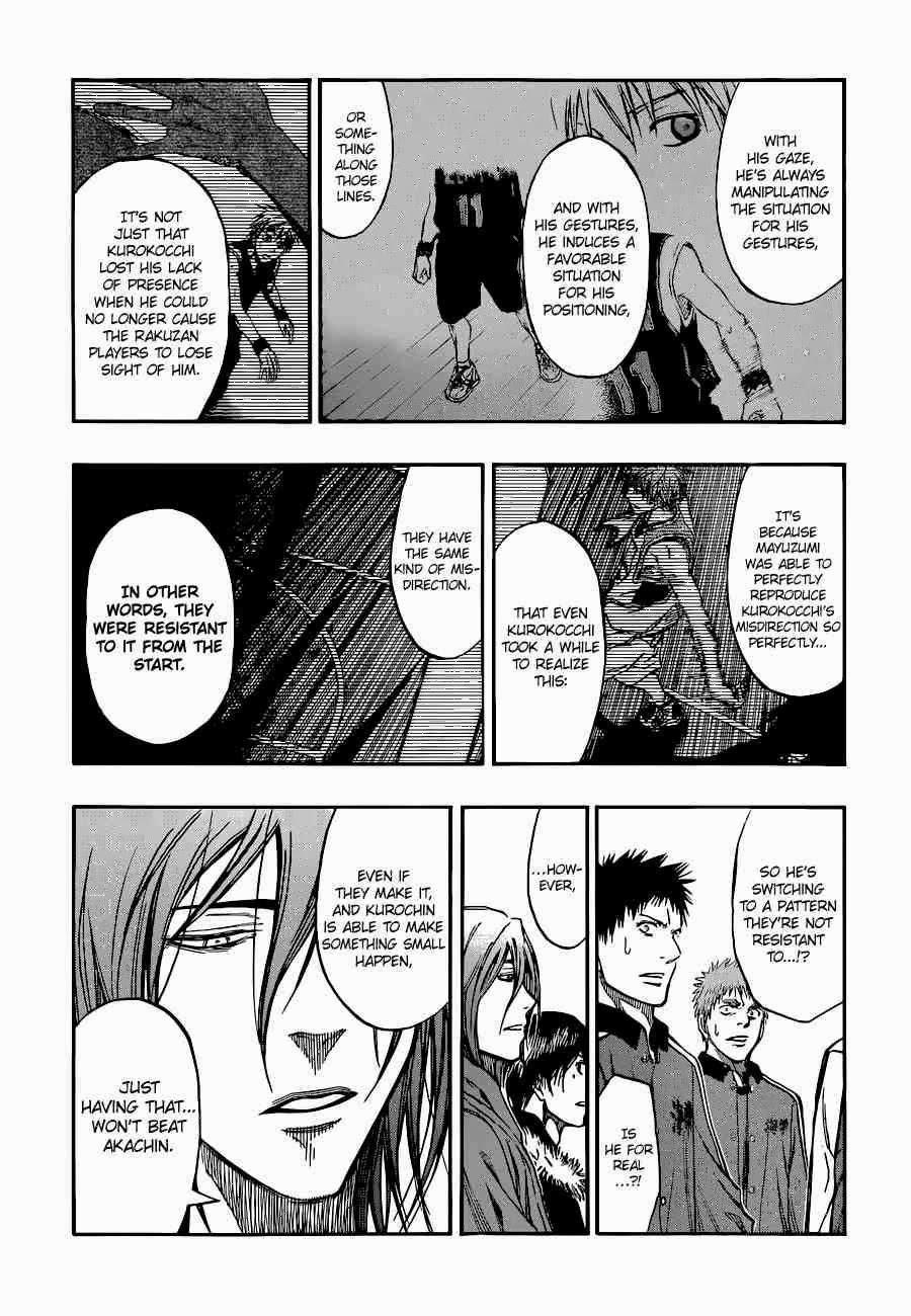 Kuroko no Basket Manga Chapter 249 - Image 15