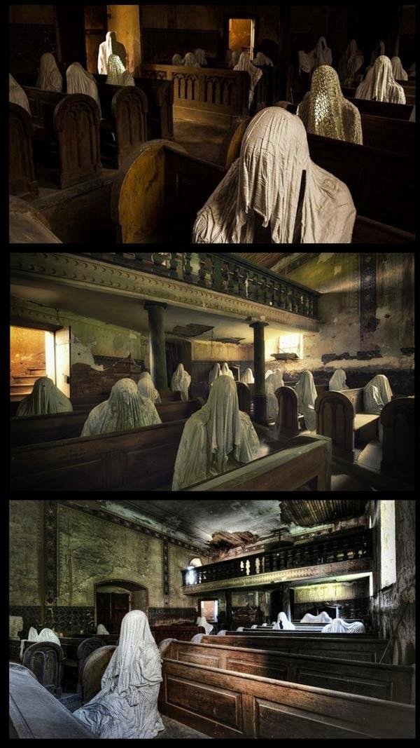 Hantu sebagai tarikan pelancong di republik czech 12 gambar